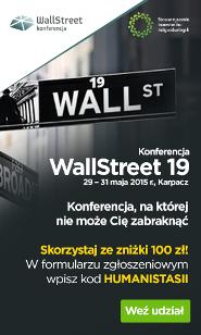 Konferencja WallStreet 19