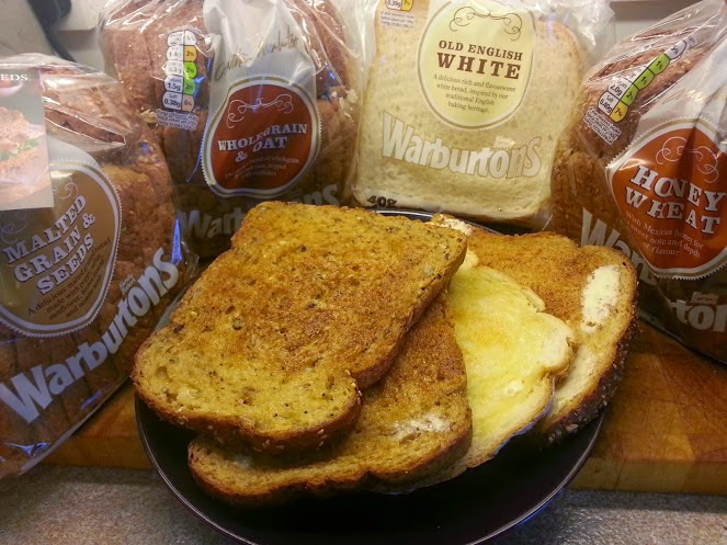 Warburton's breads toasted