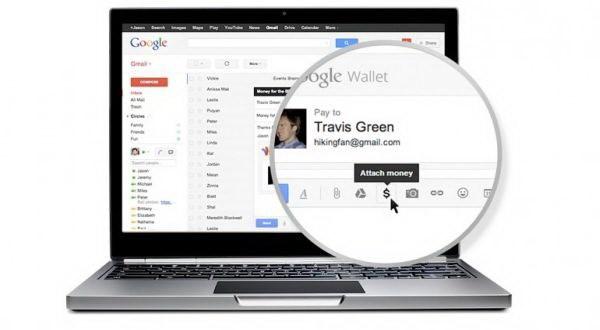 Kirim uang lewat gmail?