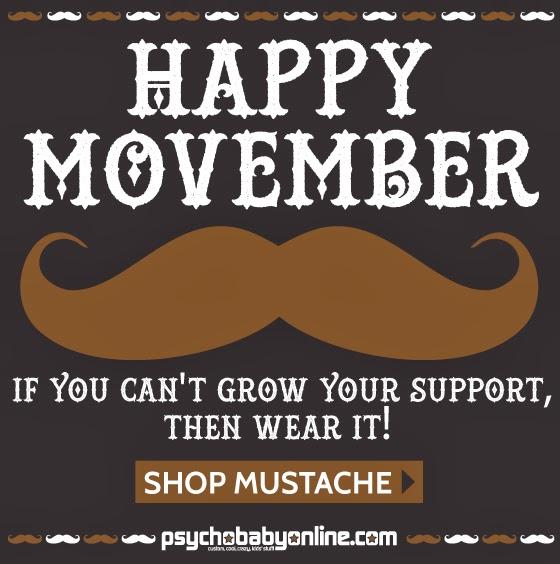 Movember Mustache Madness