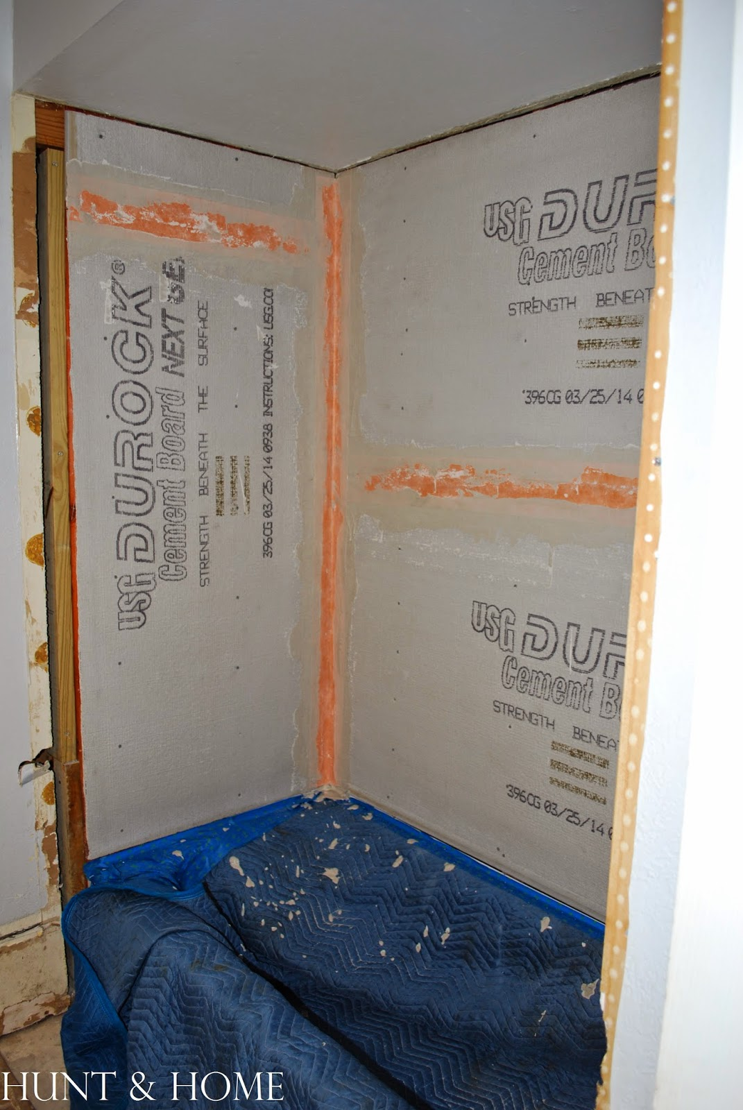 how to waterproof cement board seams