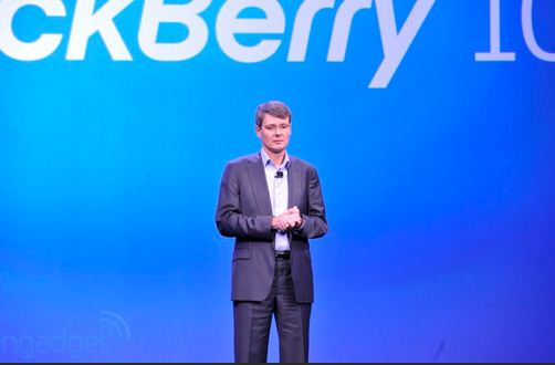 RIM changes its name to BlackBerry