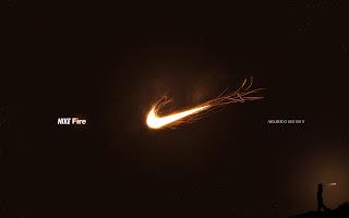 Nike Fire Just Did It HD Wallpaper