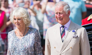 BREAKING: Prince Charles, Princess Camilla arrive Nigeria