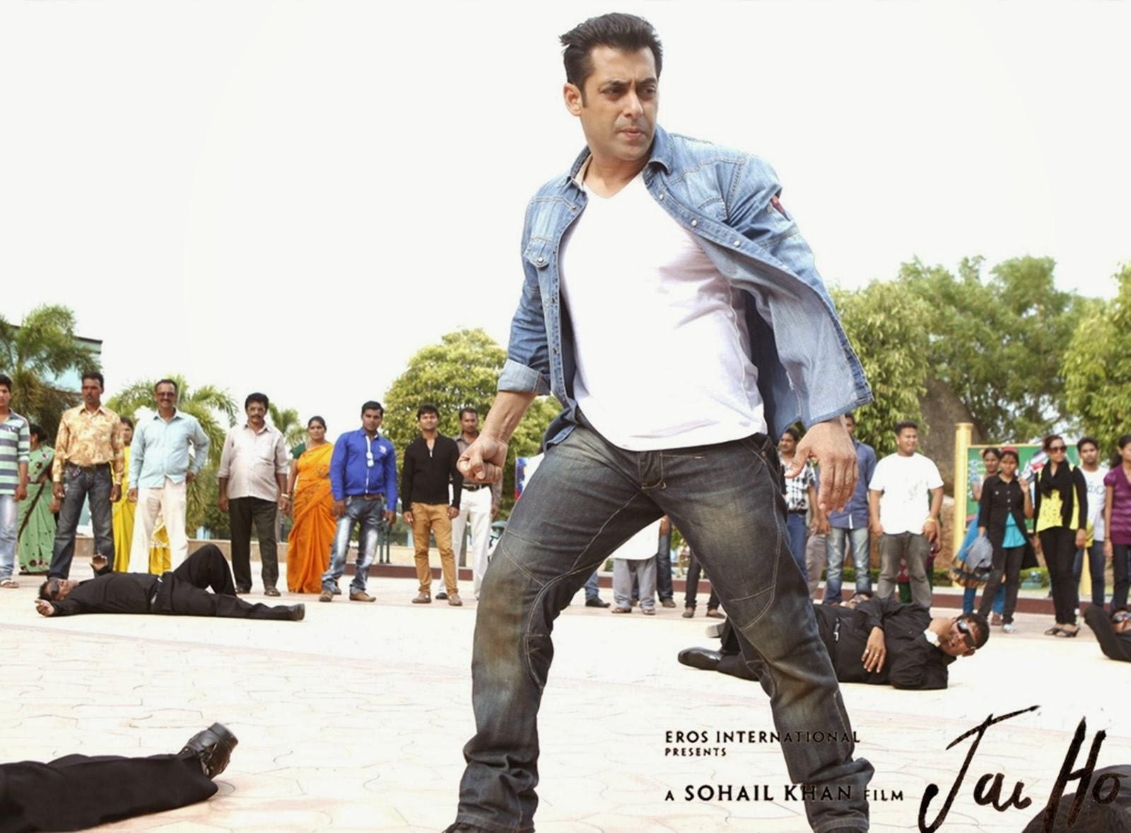 Action scene of Salman Khan in Jai Ho movie