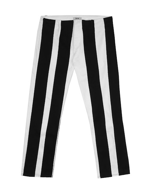 acne striped pants, striped fashion