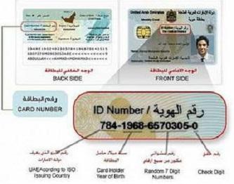 ID Card Emirat, juga tidak cantumkan agama