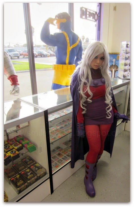 Lady Magneto Cosplay