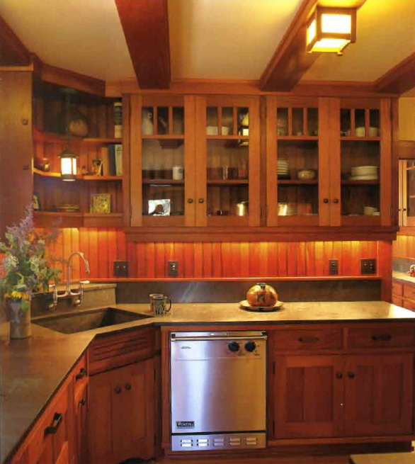 Kitchen remodeling photos for Craftsman style kitchen pictures