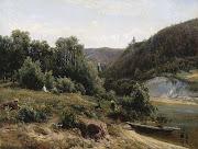 1870 Near the Monastery