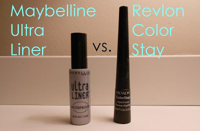 Maybelline Ultra Liner vs. Revlon Color Stay