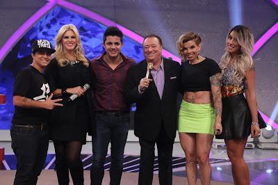 Thammy, Val, Cristiano, Raul, Penélope e Dani (Foto: Rodrigo Belentani)