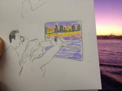 AdkB7MDCAAApYoZ Christoph Niemann is drawing his experience in the NY Marathon