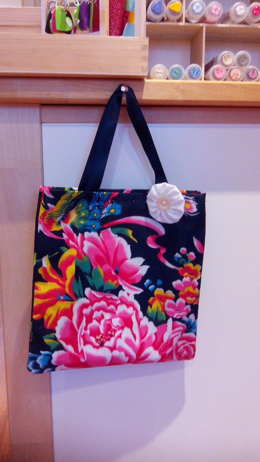 Couture atelier sac tote bag chinois