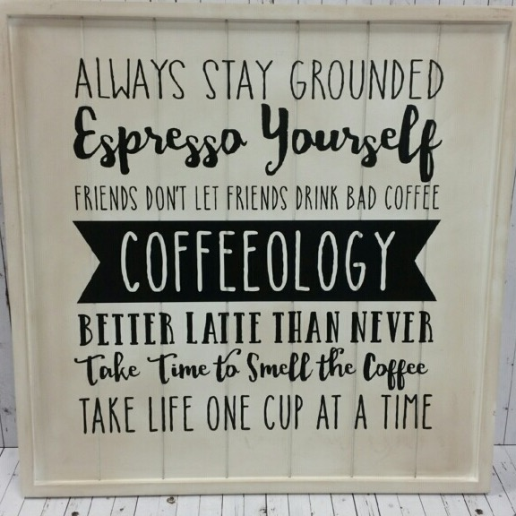 Coffee rules sign @craftsavy, #craftwarehouse, #coffee, #sign