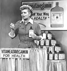 Hello Friends, I'm your Vitameatavegamin Girl!