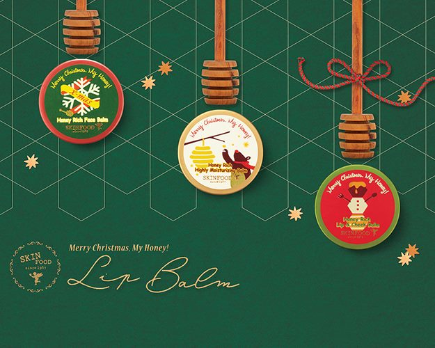 Skinfood Merry Christmas, My Honey! collection balms