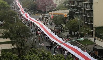 La bandera más larga del mundo - River Plate