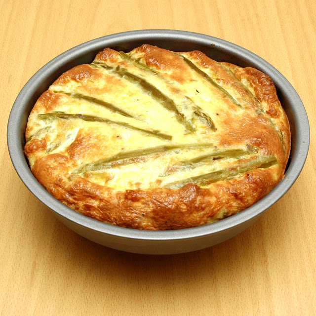 Here Are Five Health Benefits Of Asparagus Quiche+1