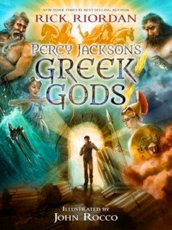 bookcover of PERCY JACKSON'S GREEK GODS  by Rick Riordan