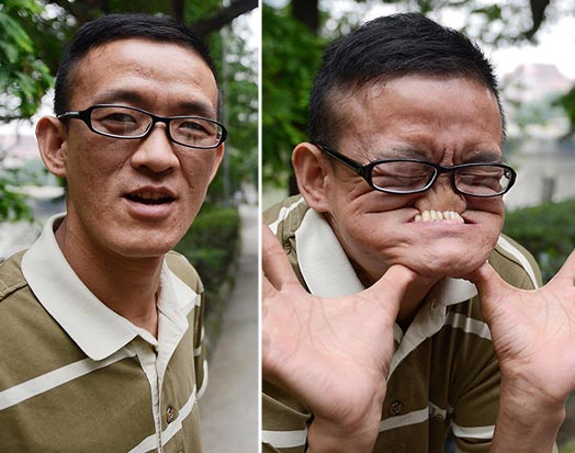... able to make a face the ugliest in the world and is earning $10,000 Ugliest Person In The World Guinness World Record