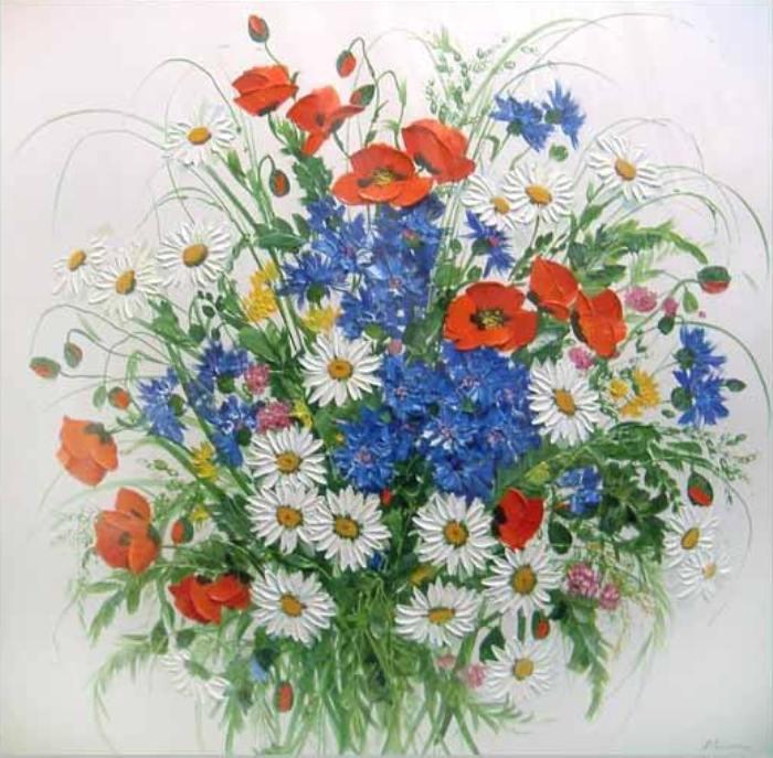 Цветок к ротонда