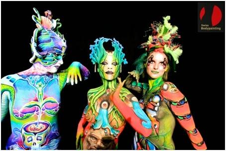 Successo della prima edizione di Swiss Bodypainting Art Festival