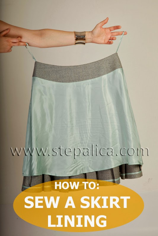 Zlata skirt sewalong: #11 Assemble the lining