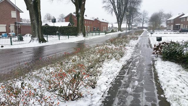 schaatsen op straat