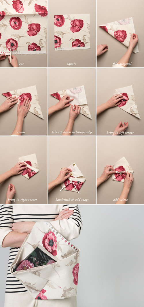make an origami tote bag with these simple instructions