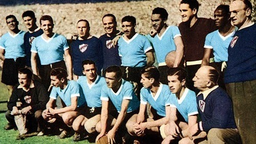 Seleção uruguaia bicampeã mundial