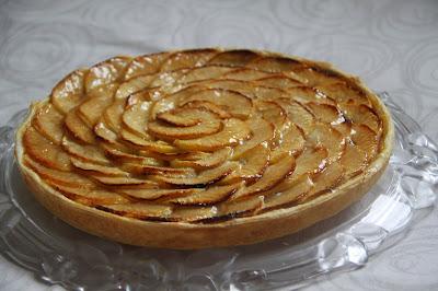Ma belle p tisserie tarte aux pommes et la compote de - Tarte aux pommes compote maison ...