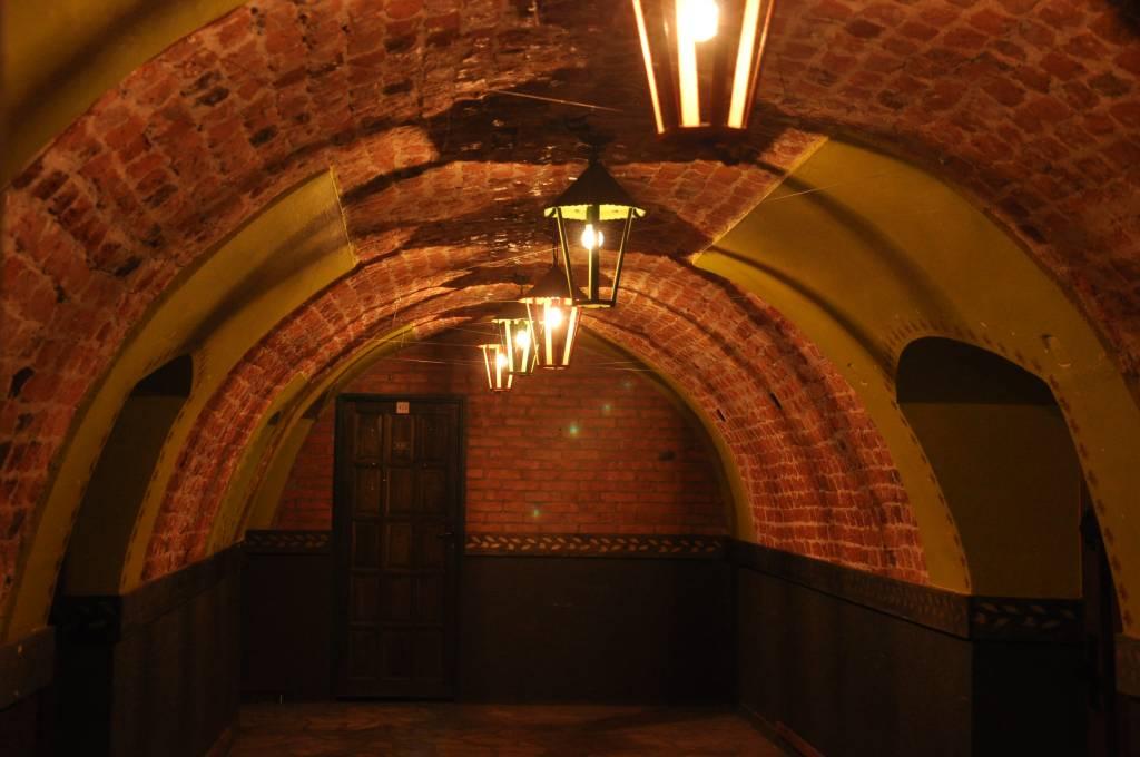 lochy zamku w Lesnicy