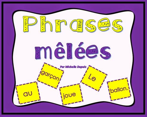 Phrases mêlées (cliquez sur l'image)