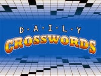 Daily Crosswords , games, yahoo games, mini games