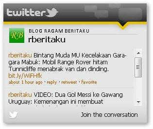 widget-blogger-twitter-live-updates