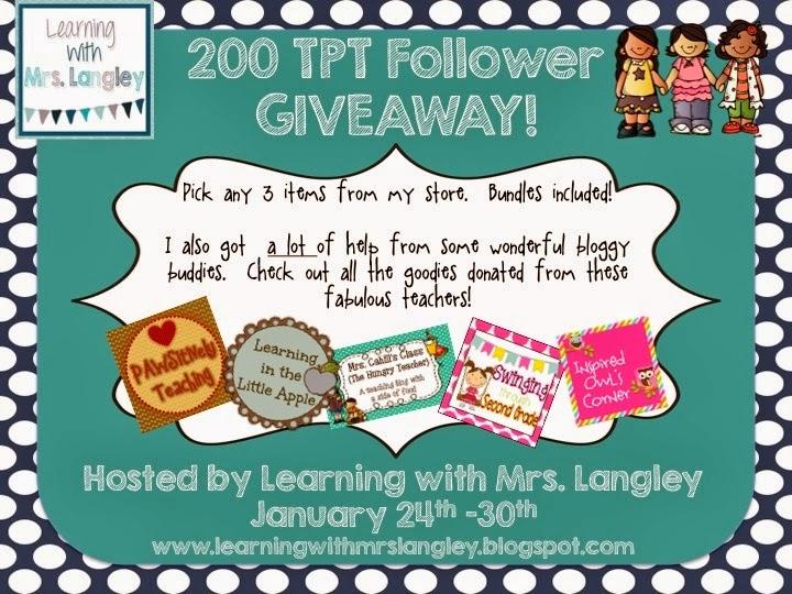 http://learningwithmrslangley.blogspot.com/2014/01/200-follower-giveaway.html