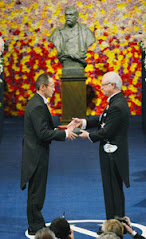 Prof. Shinya Yamanaka <br>Receiving the Nobel Prize