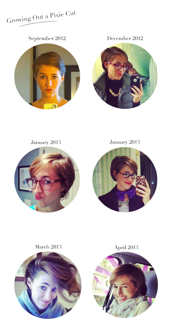 Tips for Growing Out A Pixie Cut
