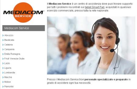 Centri di assistenza specializzati in Italia per supporto clienti Mediacom