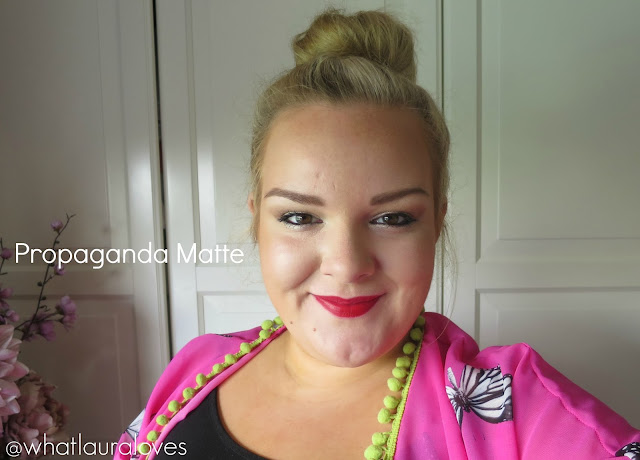 Makeup Revolution Iconic Pro Lipstick in Propaganda Matte