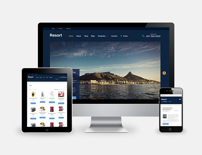WooThemes Offers 13% Discount on New Resort Theme
