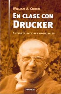 En clase con Drucker William A Cohen