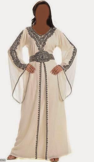 عبايات ملونة روعة اجمل العبايات الخليجية