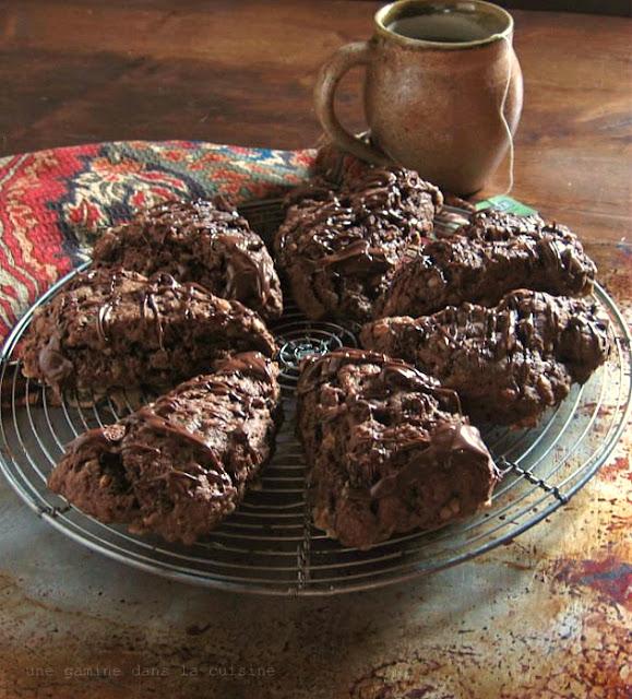 Nutella-Toffee Scones | une gamine dans la cuisine