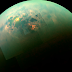 A Stunning View Of Sunlit Seas On Titan