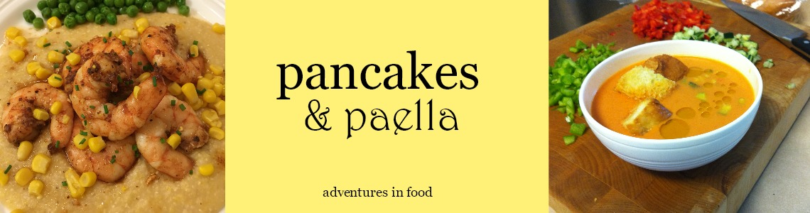 Pancakes and Paella