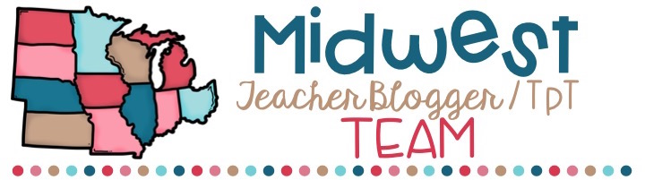 Midwest Teacher Blogger/TpT Team