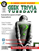 Tuesday Trivia Nights in Orlando / Central Florida