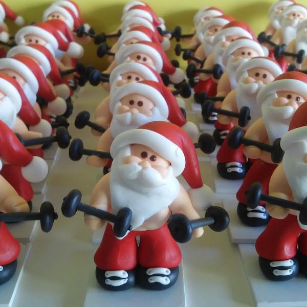 Lembrancinha de Papai Noel